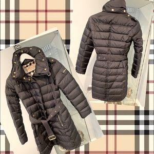 Burberry winter coat jacket size XS 💯 authentic